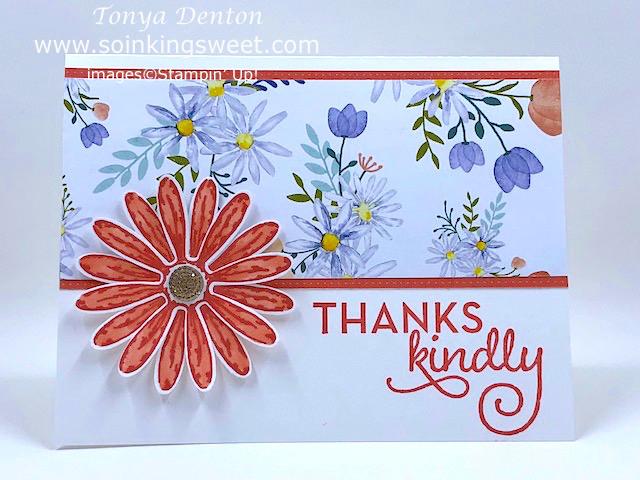 #soinkingsweet, #handmade, #thesweetinker, #tonyadenton, #handstampedcard, #thankskindly, #festivefridaychallenge
